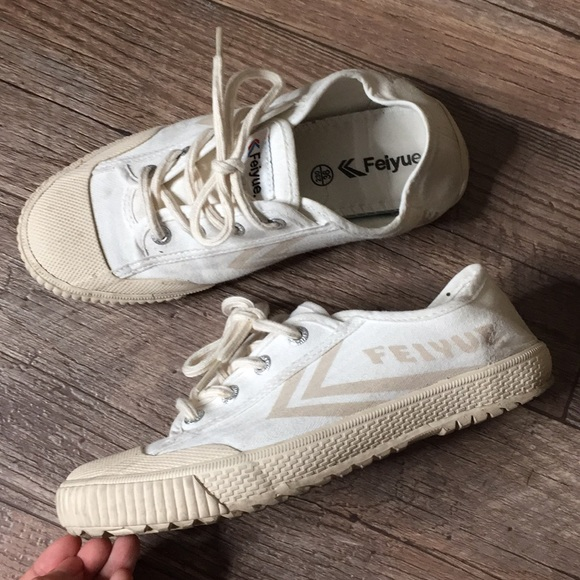 Madewell Shoes | Feiyue Cream Sneakers